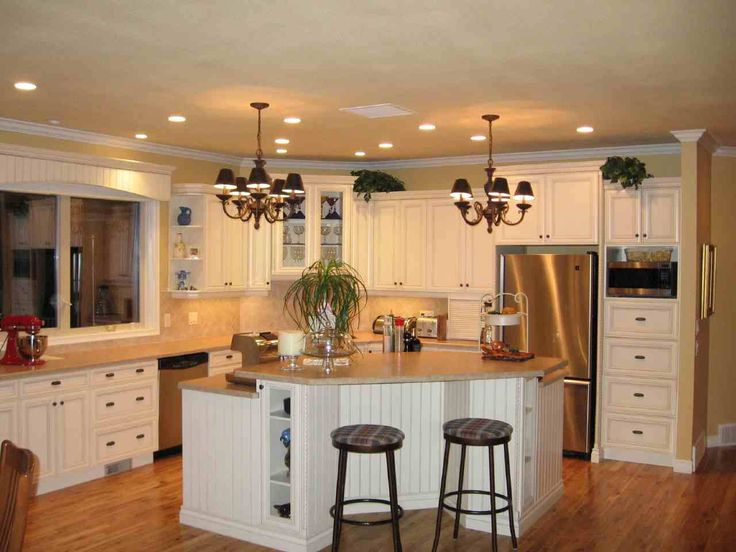 Rustic White Country Kitchen rustic country kitchen cabinets - payless kitchen cabinets